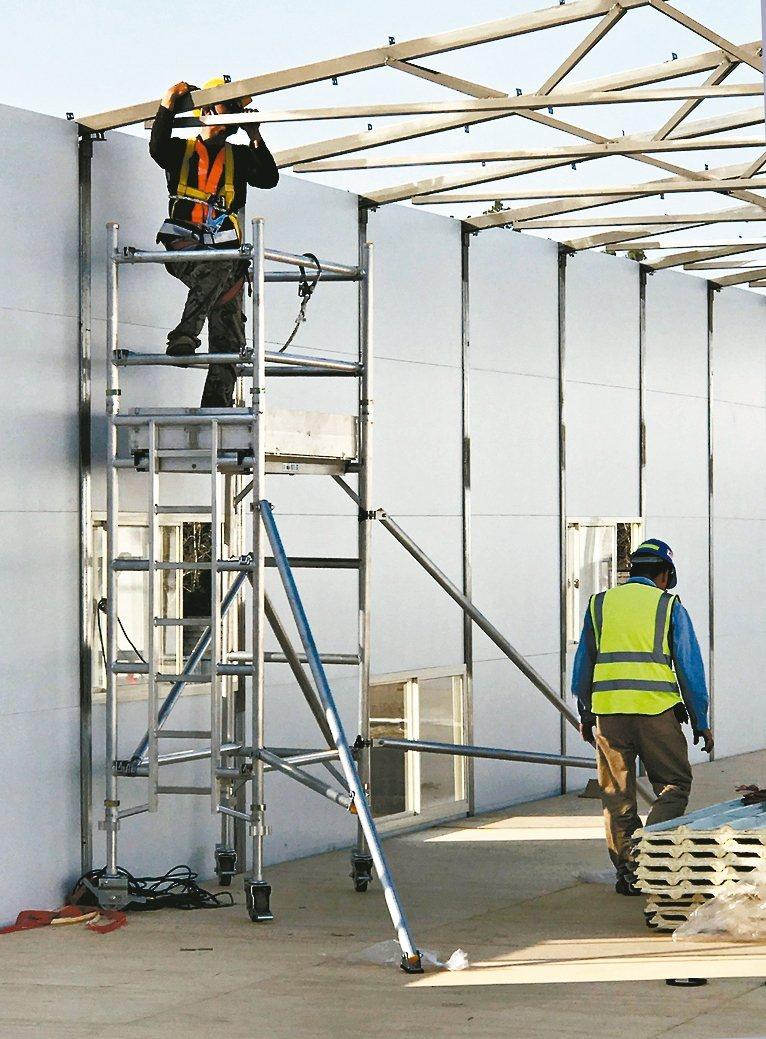 「梯老闆 」是安全梯具的代名詞。 梯老闆/提供