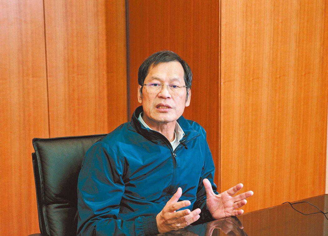 台北雙子星得標方、藍天宏匯董座許崑泰專訪。 記者曾原信/攝影