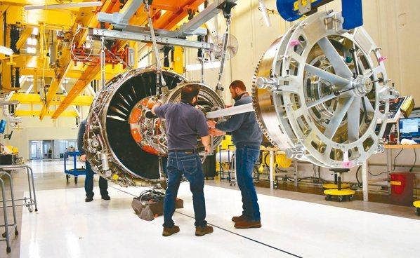 美國政府擬禁止奇異出口噴射機引擎給中國。 路透