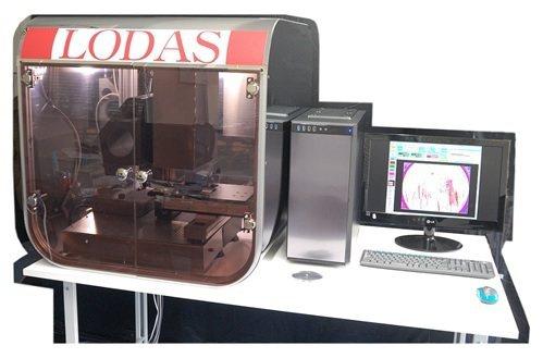日本LODAS SiC缺陷檢測機。 矽菱/提供