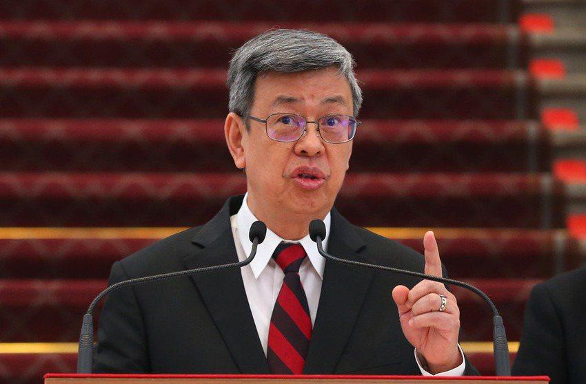副總統陳建仁。 聯合報系資料照/記者林澔一攝影