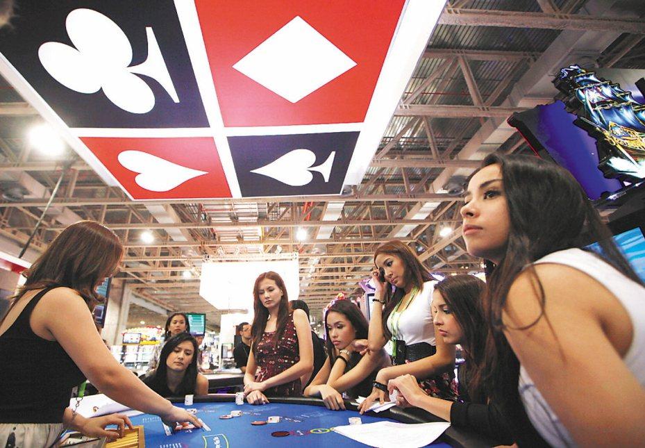 澳門賭場。 美聯社