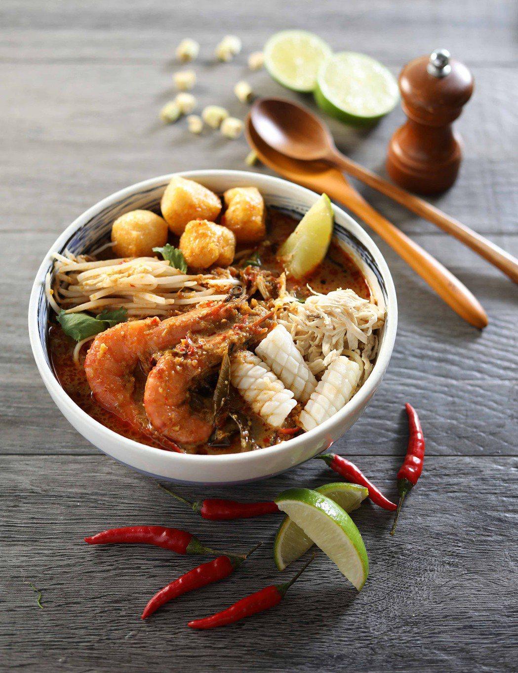 Asia 49-檳城咖哩叻沙麵NT$330。