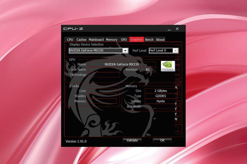 Prestige 14粉色款採最新入門顯示晶片NVIDIA GeForce MX...