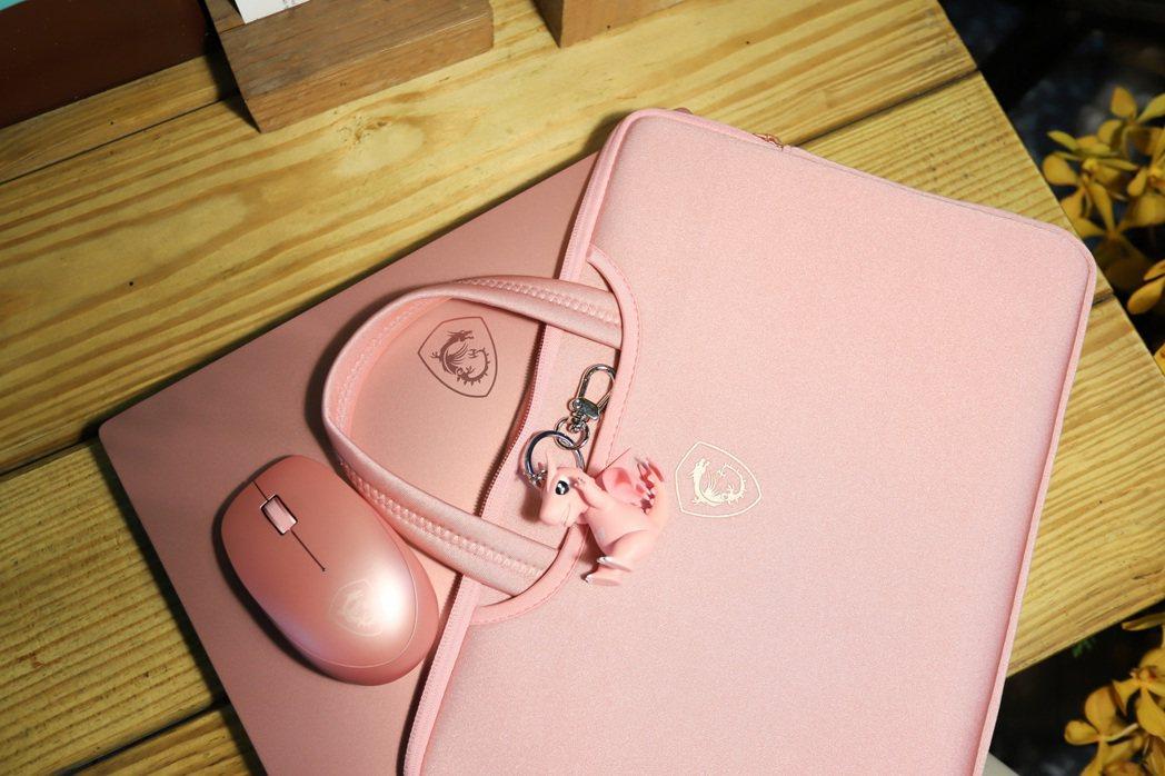 Prestige 14粉色系列隨機贈手提包、無線滑鼠及變色Lucky鑰匙圈。  ...