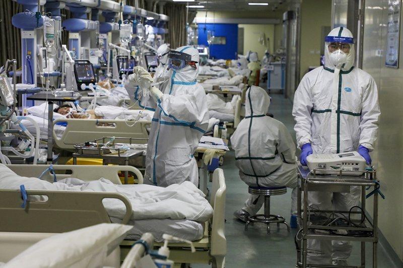 自去年年底武漢出現2019年冠狀病毒疾病感染以來,情勢一發不可收拾。 圖/美聯社
