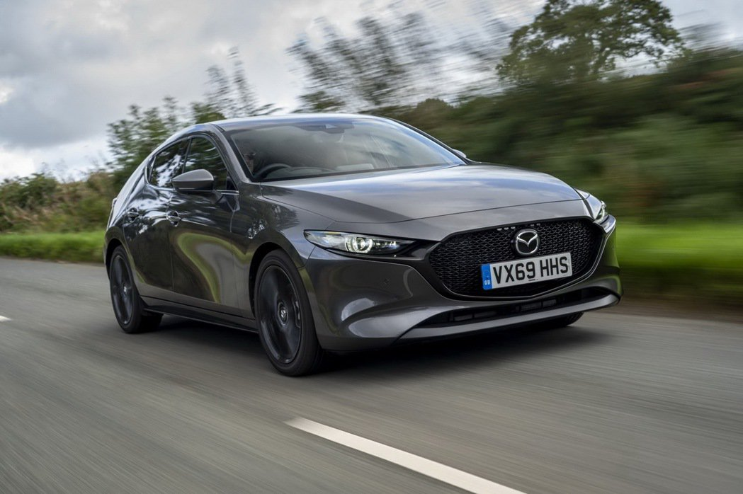 Mazda 3。 圖/原廠提供