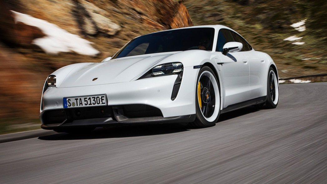 Porsche Taycan。 圖/原廠提供