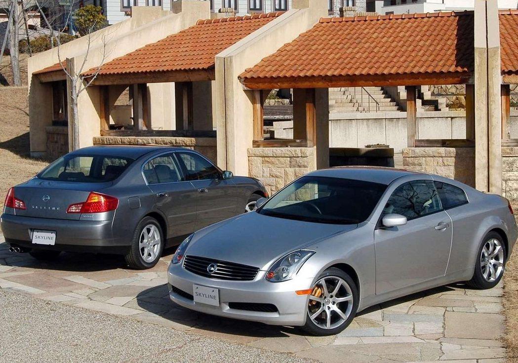 Nissan Skyline V35是與雷諾合作之後的產物,整體走向偏北美風格。...