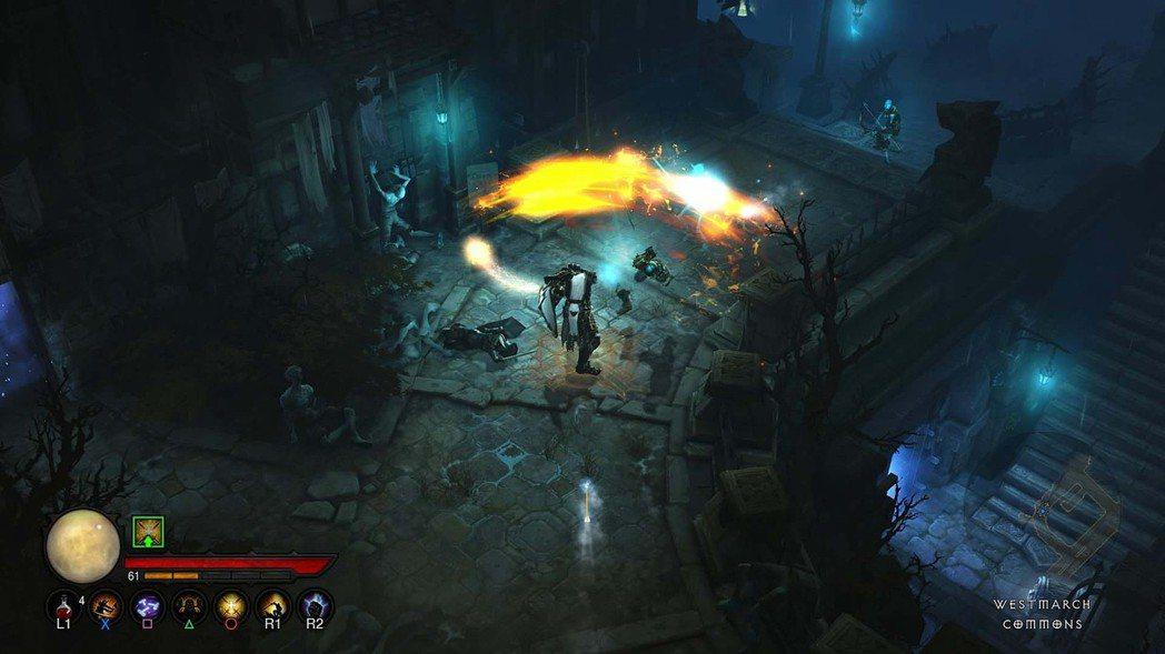 《暗黑破壞神三》通常需要玩家攻擊吸血來維持作戰節奏。來源:暴雪