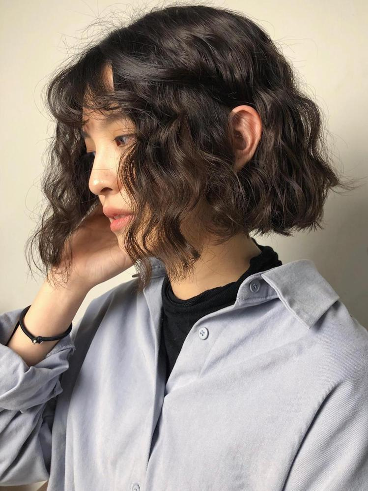 髮型創作/日青髮廊 / richin_bob,圖/StyleMap美配提供