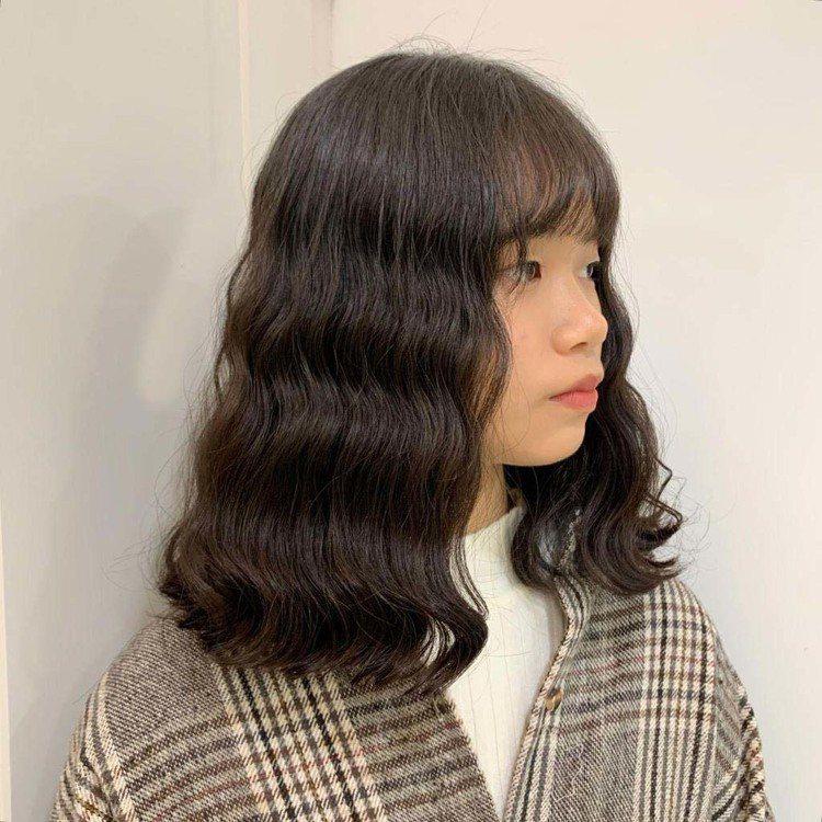 髮型創作/空气概念 二館 / YOONA,圖/StyleMap美配提供