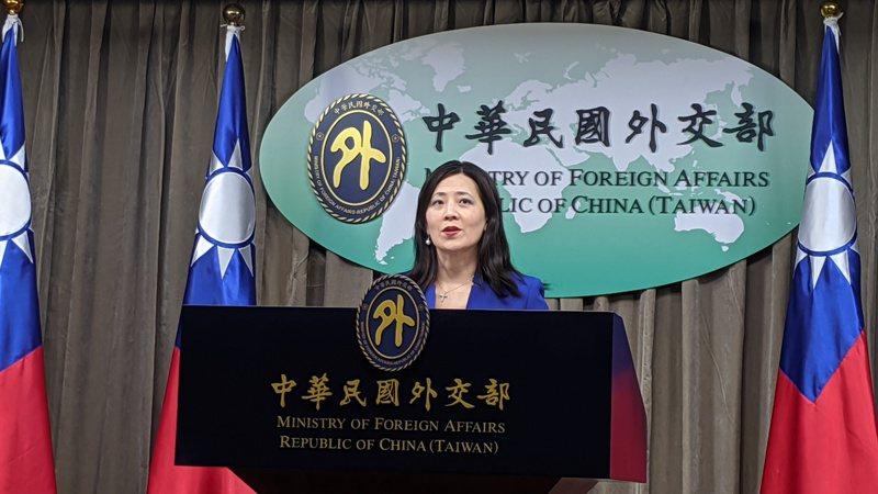外交部發言人歐江安。報系資料照