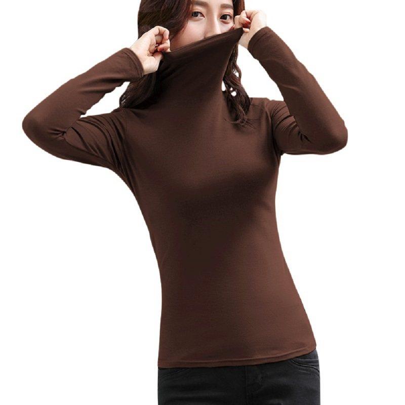 頂級高領加絨保暖發熱衣。圖/創業家提供