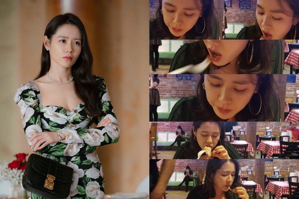 38歲孫藝真,如何維持螞蟻腰呢?圖/摘自tvN、孫藝真IG