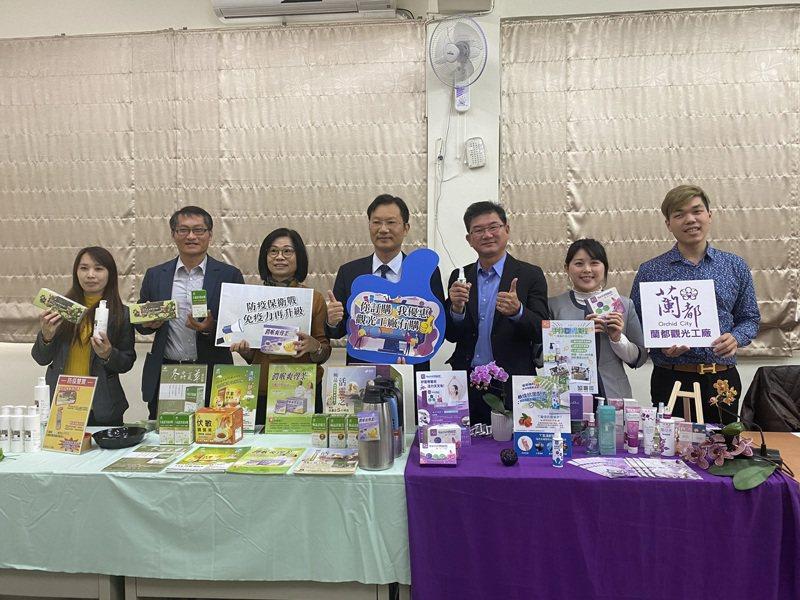 搶宅經濟及保健經濟,台南市政府推動觀光工廠防疫大作戰。記者謝進盛/攝影