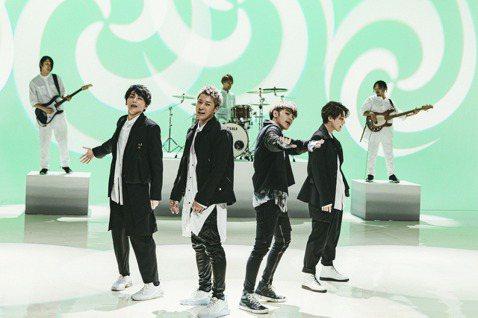 鼓鼓(呂思緯)和日本人氣唱跳男團Lead合作日文單曲「超展開」,特別飛到東京2次一同練舞及拍攝MV,而他們也將在28日來台灣,為鼓鼓的「蟲洞」概念專輯演唱會」擔任嘉賓,讓歌迷相當期待。MV舞蹈拍攝部...