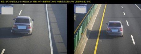 台61線區間測速3月2日開張 1月試照1459輛達開單標準
