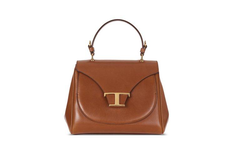 TOD'S Timeless Bag焦糖色提包,81,900元。圖/迪生提供