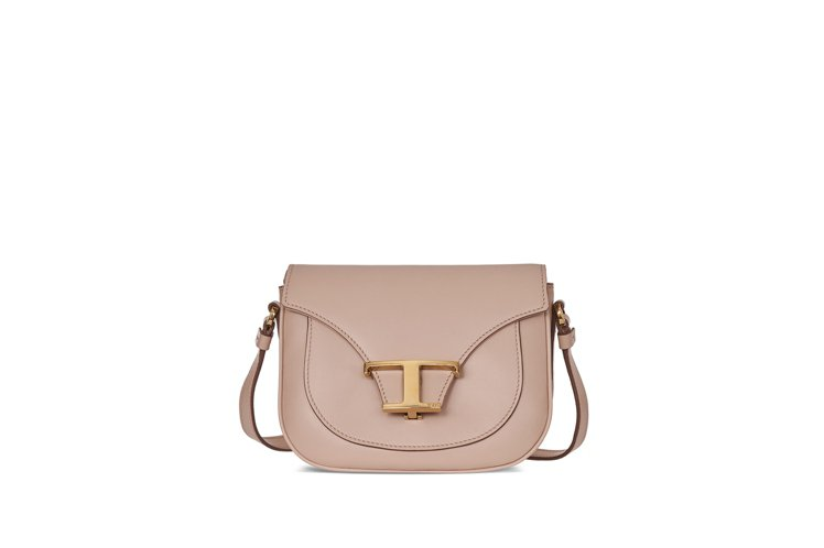 TOD'S Timeless Bag肩斜背包(裸粉色),72,300元。圖/迪生...