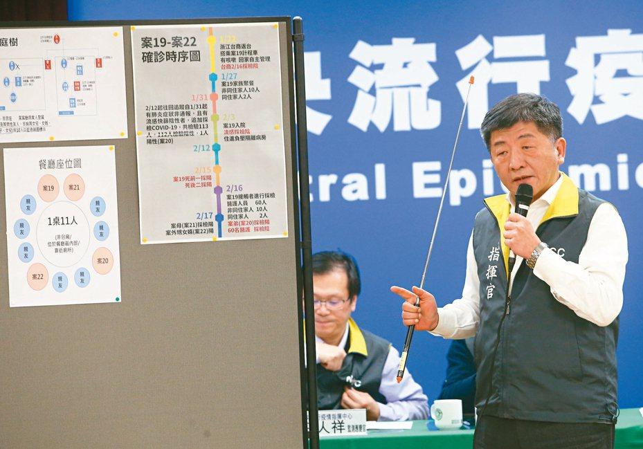 指揮中心指出,目前停泊日本橫濱港的鑽石公主號郵輪,截至目前日方已採檢1,723件檢體,共445人確診感染COVID-19(新冠肺炎),其中192人採檢時無症狀。 聯合報系資料照片/記者葉信菉攝影