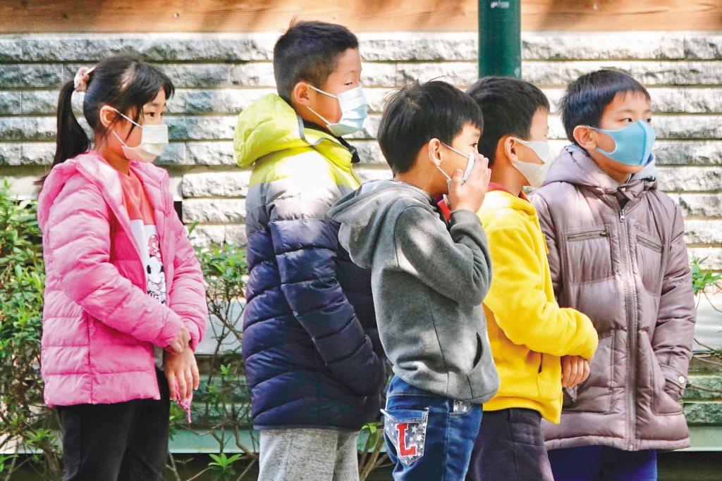 中小學即將開學,自二月二十日起,放寬兒童口罩購買額度,從現行七天內兩片,變成七天...