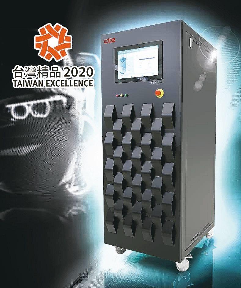 承德科技SBT1000鋰電池健康狀態快速檢測解決方案,榮獲2020台灣精品獎。 ...