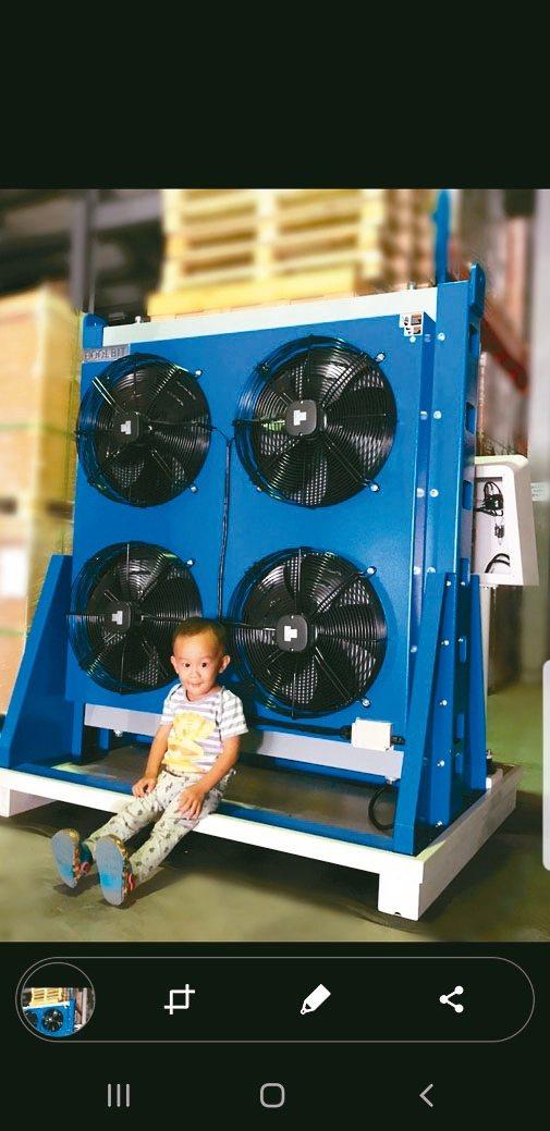 庫林主動恆溫免過濾切削液冷卻機,廣獲國內產業界大廠諮詢。 庫林公司/提供