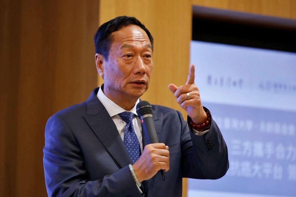 郭台銘啟動大投資…質設鴻海股 241億到手