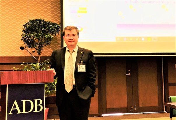 張智強博士受邀出席2019亞洲開發銀行論壇活動。 皇輝科技/提供