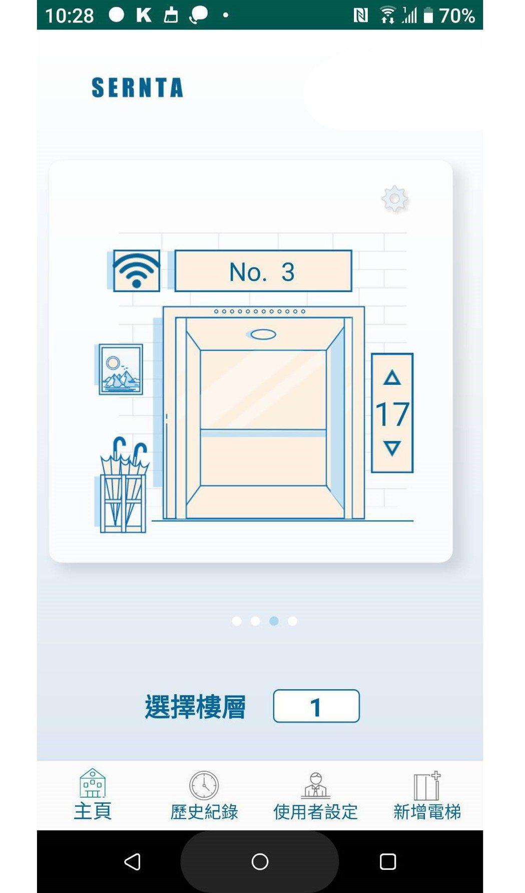 藉由手機App的操作可提前預訂電梯及預計抵達之樓層,電梯使用者根本不需手觸碰電梯...