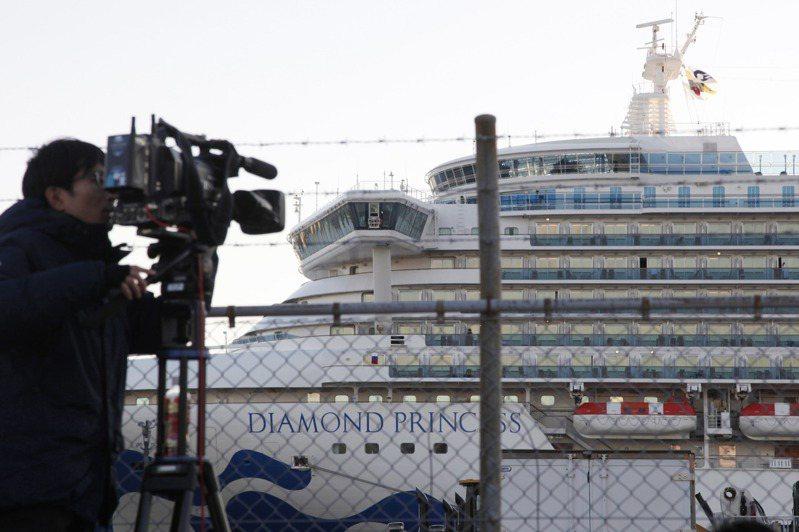 英國當局表示,將安排一架專機接回鑽石公主號上的英國公民。圖/美聯社