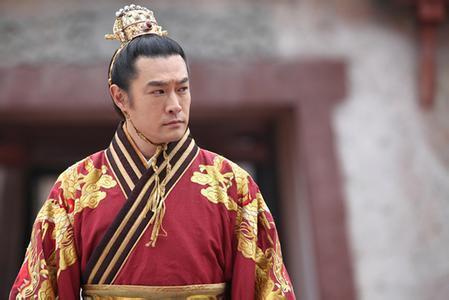 黃維德飾演的譽王,霸氣渾然天成。圖/華視提供