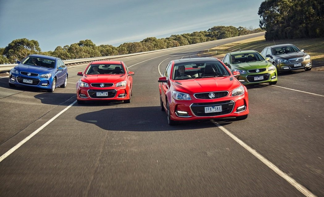 Holden VFII Commodore。 摘自Holden