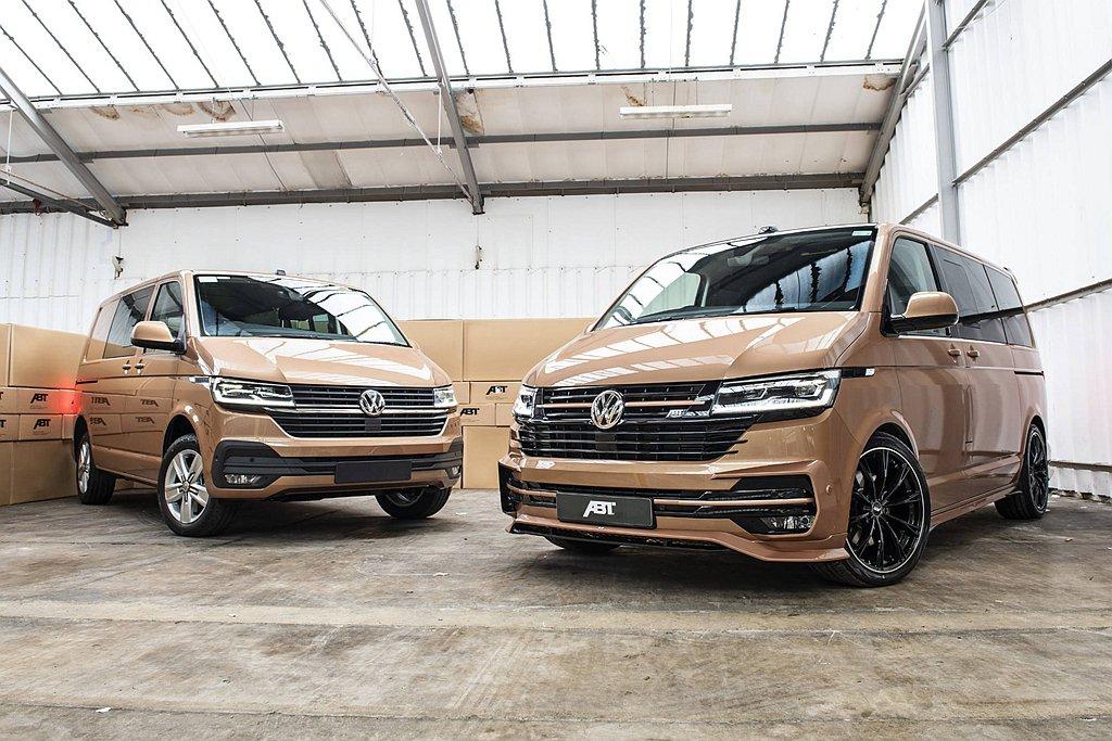 台灣許多商務運輸業者喜愛的福斯商旅T6廂車,今年終於將導入小改款車型。 圖/AB...