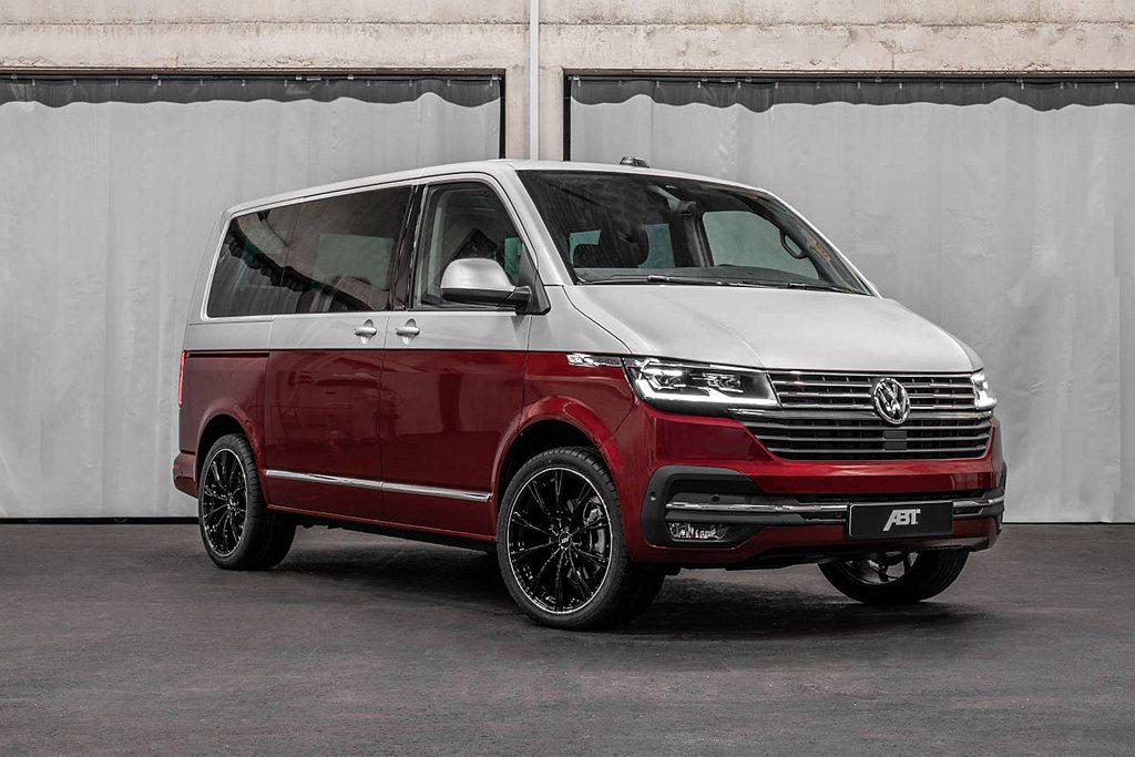 第六世代福斯商旅T型廂型車,去年中期改款推出T6.1 Multivan,御用改裝...