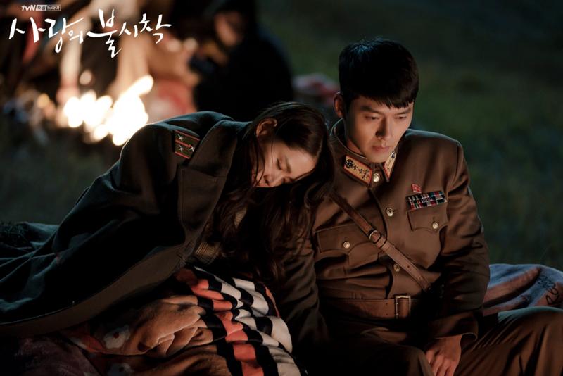 《愛的迫降》劇照。 圖/tvN