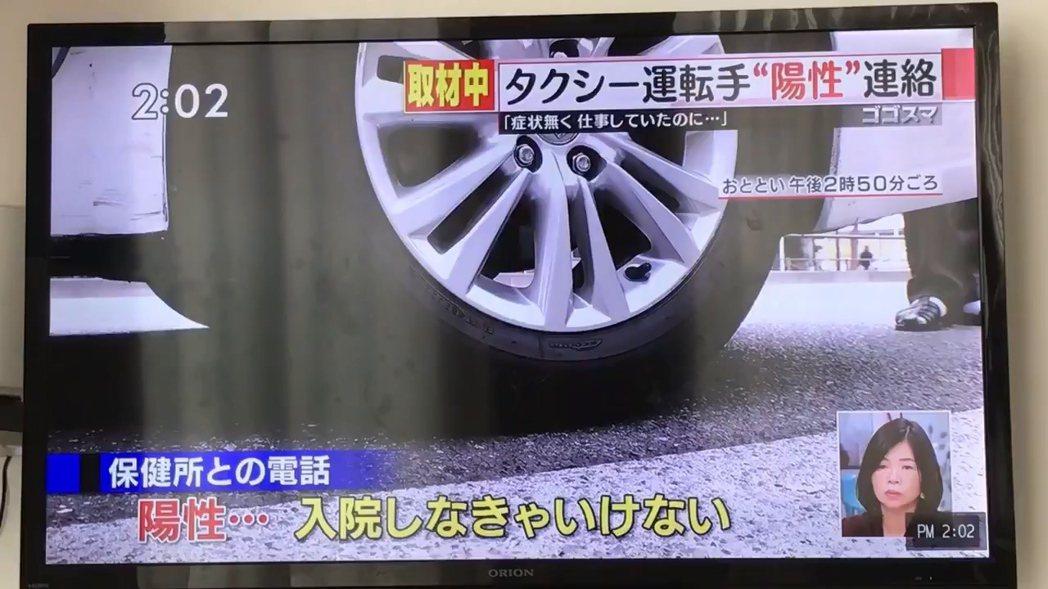 日本東京近日發生新冠肺炎群聚感染,多名確診病患都出席個人計程車工會分部在屋型船舉...
