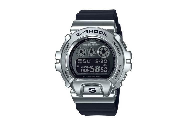 G-Shock GM-6900系列表款,精鋼表殼,價格未定。圖/摘自Casio官...