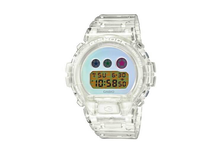 G-Shock DW-6900SP-7腕表,25周年紀念款,價格未定。圖/摘自C...