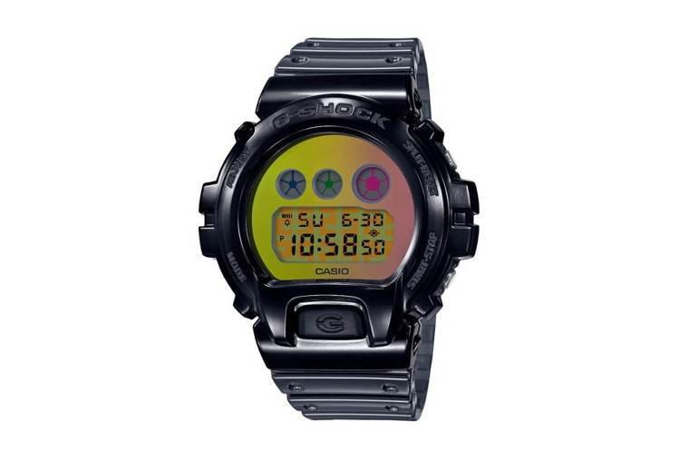 G-Shock DW-6900SP-1腕表,25周年紀念款,價格未定。圖/摘自C...
