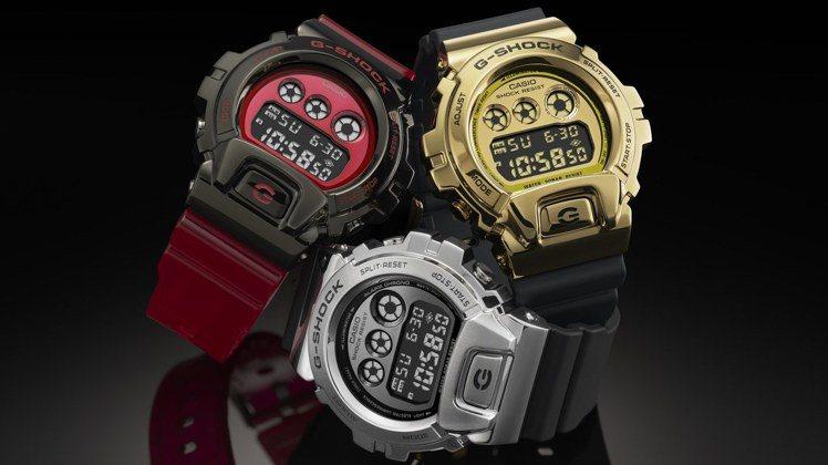 金屬感的G-Shock腕表才是王道!所以品牌在今年打造了全新的GM-6900系列...