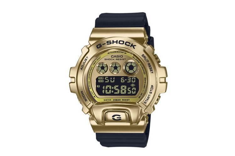 G-Shock GM-6900系列表款,金色電鍍精鋼表殼,價格未定。圖/摘自Ca...
