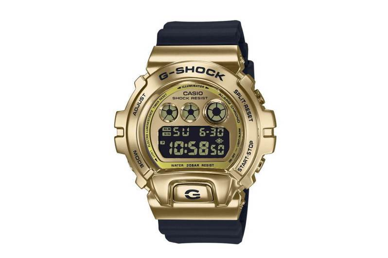 G-Shock GM-6900系列表款,金色電鍍精鋼表殼,價格未定。圖/摘自Casio官網