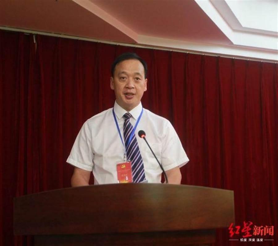 武漢武昌醫院院長劉智明因感染新冠肺炎於今日上午離世。圖/取自紅星新聞