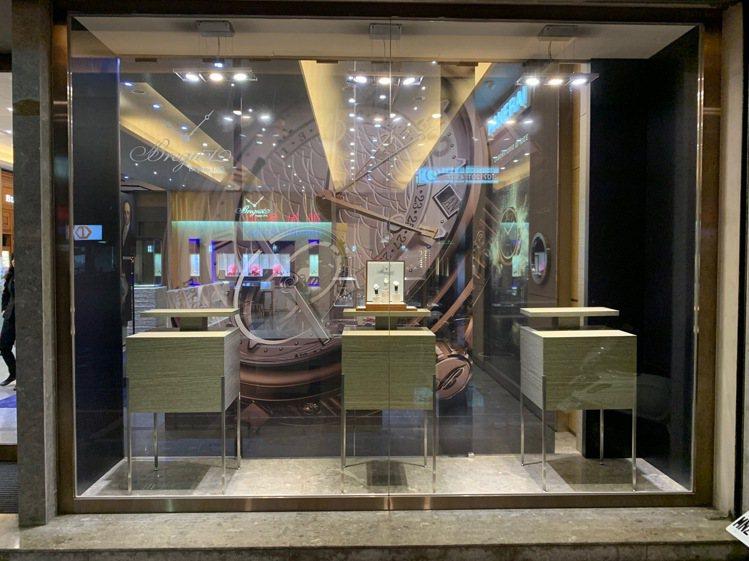 位處五福三路的正泰鐘表,是南台灣高雄的重量級鐘表通路。圖/Breguet提供。