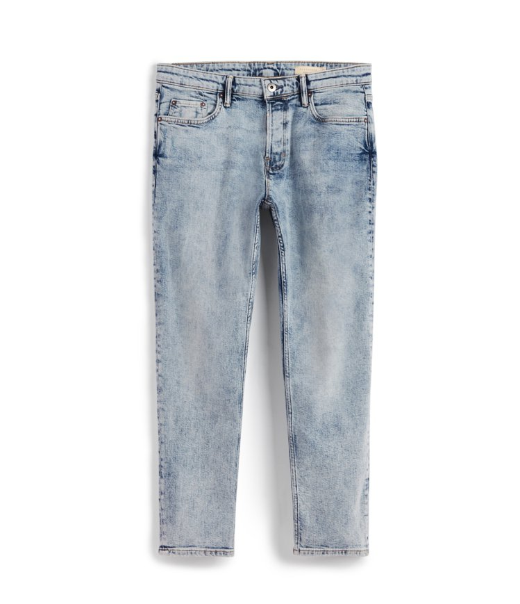 AllSaints Dean淺藍色直筒牛仔褲5,100元。圖/AllSaints...