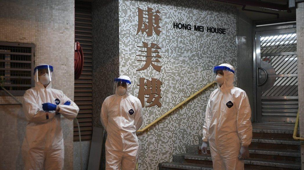 香港旅遊業受到新冠肺炎影響。圖/取自中通社