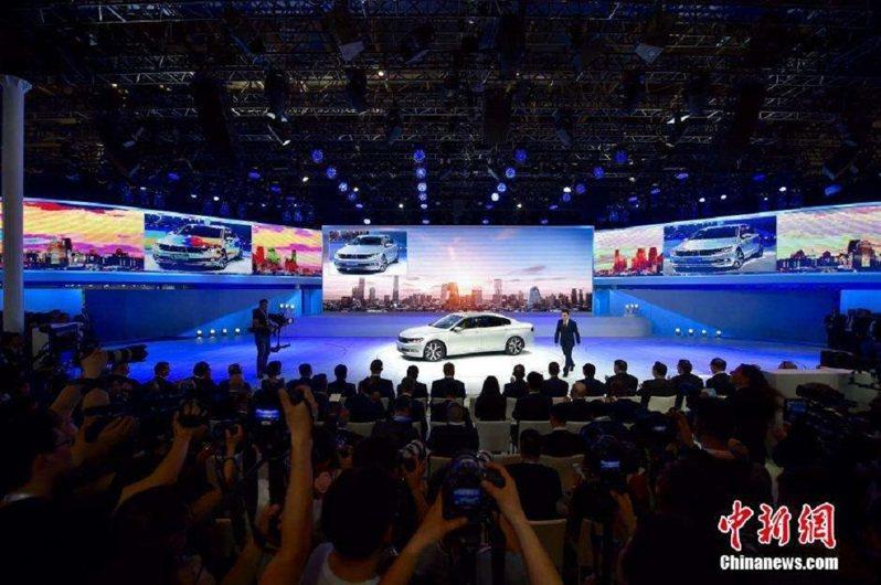 北京車展。圖/中新社