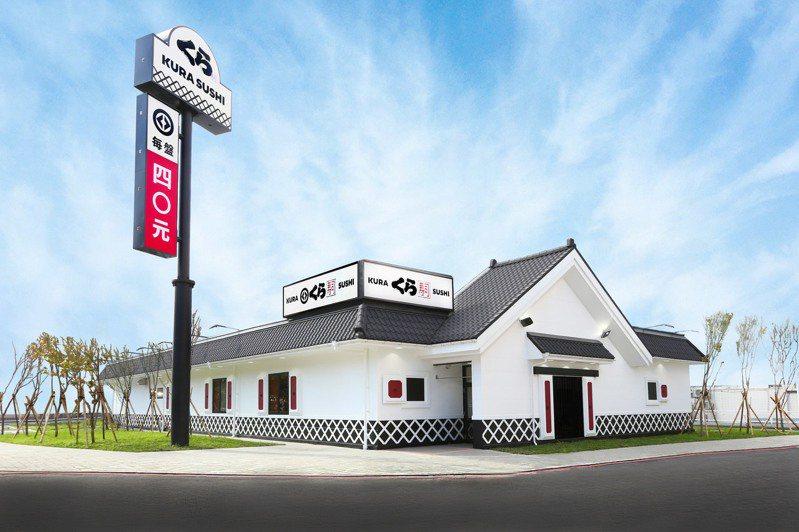 土藏造型的三重捷運路站。圖/藏壽司提供